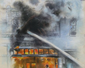 DetroitRiots-BurningStoreFront-Charcoal