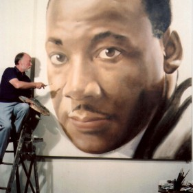 RobertTempletonPaintingDr.King'sPortrait