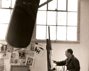 n-Robert Templeton in studio - 1967
